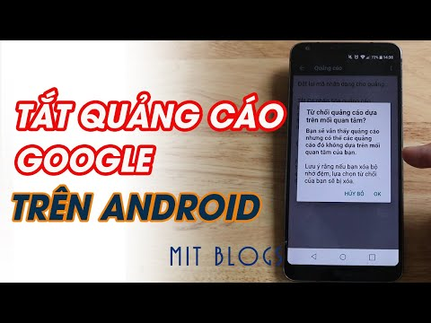 4 bước tắt quảng cáo Google trên điện thoại Android mới nhất 2021