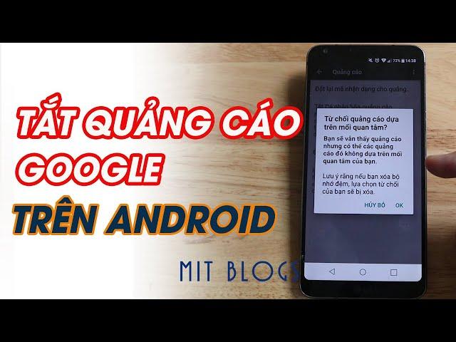 [Mit Blogs – Tips & Tricks] 4 bước tắt quảng cáo Google trên điện thoại Android mới nhất 2020