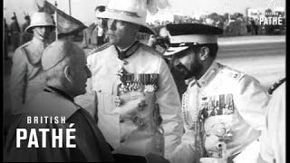 Haile Selassie In Malta (1954)