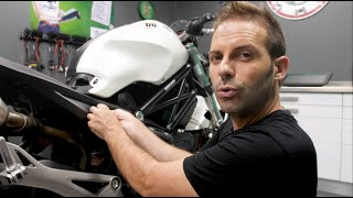 Motorrad-Diagnose by Didier | Episode 2 | Ducati Monster - Servicelampe brennt nach Wartung