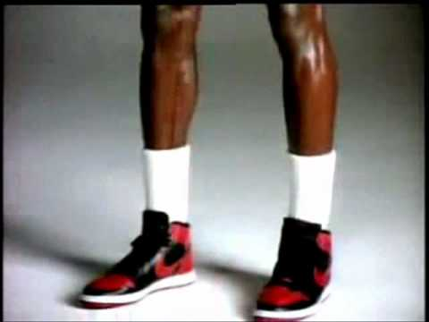 finest selection d2586 f7c86 AIR JORDAN 1 COMMERCIAL Banned! (1985)