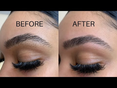 HOW TO GROOM, SHAPE AND GROW YOUR EYEBROWS| Briana Monique'