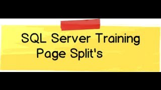 SQL Server interview question / training :- What is page split and how is performance impacted?
