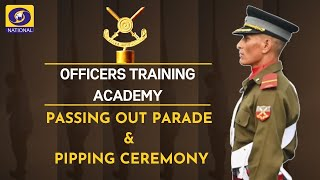 Passing Out Parade - Officers Training Academy, Chennai