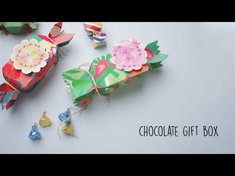 Chocolate Gift Box Ideas  Party Favors  DIY Gift box