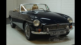 MG B cabriolet 1963 -VIDEO- www.ERclassics.com