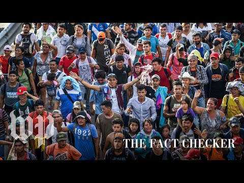What's going on in the grainy video of migrants Trump tweeted?   Fact Checker