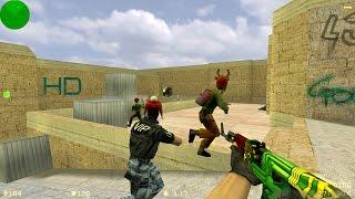 КС 1.6: Новогодние Олени! Лучшие моменты - приколы и юмор Counter Strike