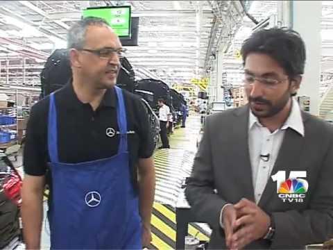 Mercedes Benz - HQ & Manufacturing Center India, Chakan, Pune.