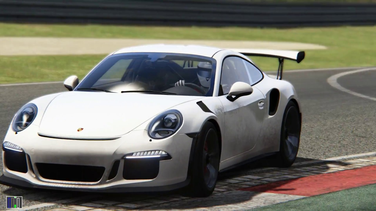 Assetto Corsa Porsche GT3 RS Nurburgring GP - YouTube