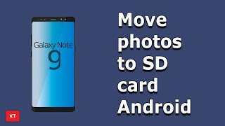 How to move photos to SD card in android | Make space free in android