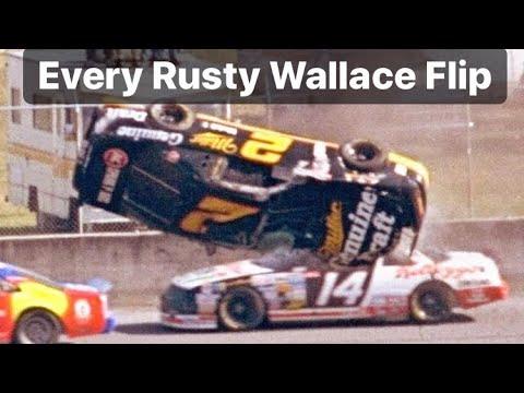 Every Rusty Wallace Flip