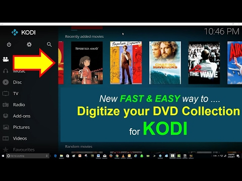 Rip your DVD Movies to KODI