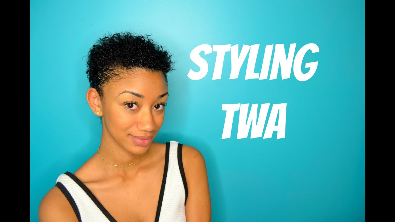 Styling 3b 3c Twa Natural Hair Nia Imani Youtube