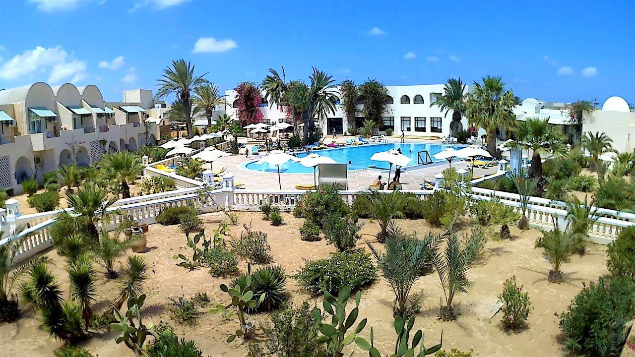 Отдых в Тунисе 2019-остров Джерба часть 1 Отель//Holidays in Tunisia in the island of Djerba