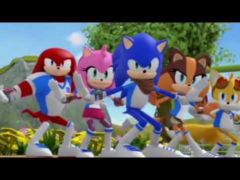 Sonic dances to Michael Jackson