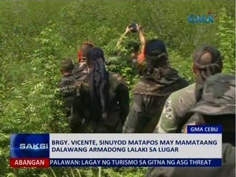 Saksi: PNP, inaalam kung totoo ang impormasyong tumawid daw sa Cebu mula Bohol ang mga Abu Sayyaf