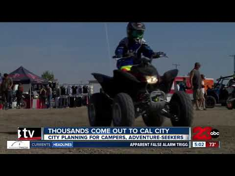 Thousands flock to California City this weekend