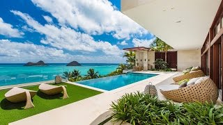 Hawaii Luxury Villa 18.5 Million Dollars - Hawaiian Luxury Rentals - Lanikai Hillside Estate