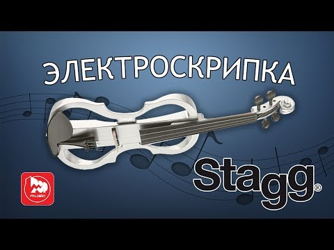 STAGG EVN X-4/4 доступная электроскрипка. The Cranberries-Zombie Violin cover
