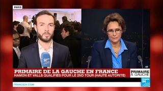 """Primaire de la gauche - """"Les militants sont abasourdis"""" : Manuel Valls, 2e derrière Benoit Hamon"""