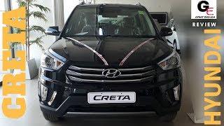 Hyundai Creta sx(o) 2018 edition black | most detailed review | price | mileage | features !!!
