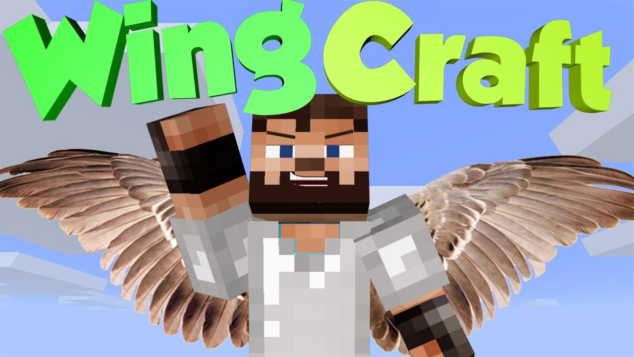 how to create wings in minecraft