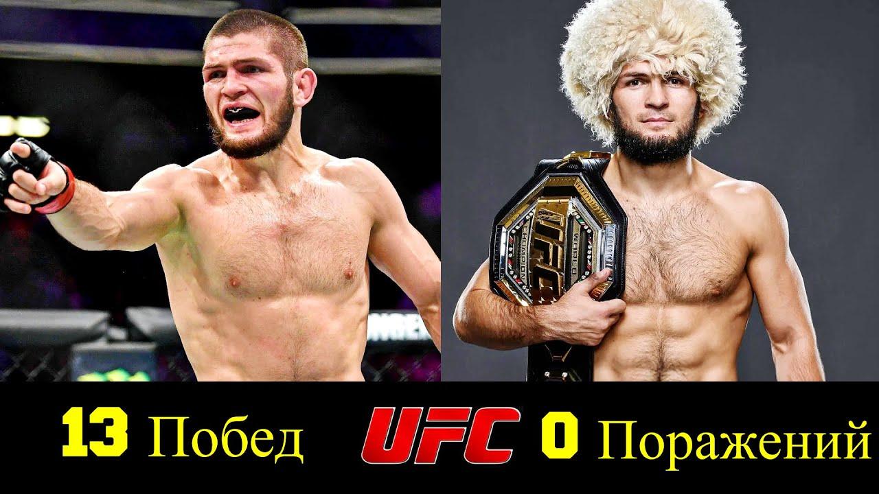 🔴 Хабиб Нурмагомедов - Все Победы Чемпиона в UFC 👊!