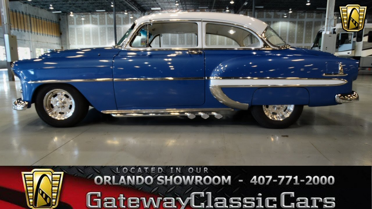 1953 Chevrolet Belair Gateway Classic Cars Orlando 108 Youtube 1954 Chevy Truck Air Cleaner