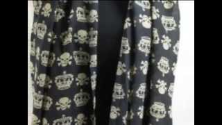 apparel supplier wholesale distributor skull scarves WholesaleSarong.com