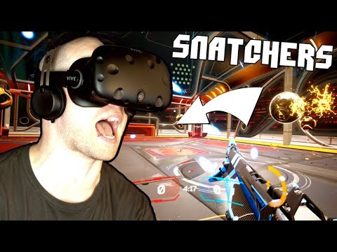 ROCKET LEAGUE in VIRTUAL REALITY!? ✪ Snatchers VR (HTC Vive Virtual Reality)