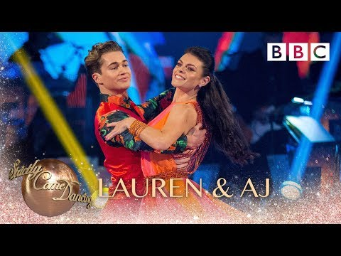 Lauren Steadman and AJ Pritchard Quickstep to If Youre Over Me  BBC Strictly 2018