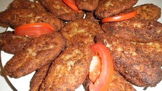 Easy Meat and potato patties شامی کباب
