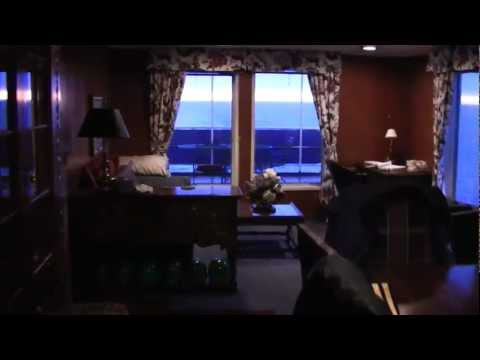 Paul R Tregurtha - Walk through of Guest Quarters - Great Lakes Freighter