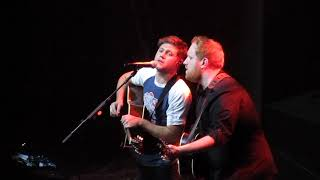 Niall Horan & Gavin James - Dancing in the Dark - San Francisco - 11/22/17
