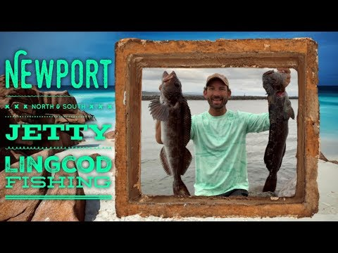 Jetty Fishing For Lingcod, Newport Oregon