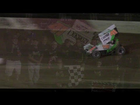Trail-Way Speedway 358 Sprint Car Victory Lane 9-1-17