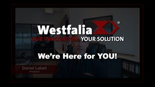 Westfalia Technologies - Open, Essential & Here for YOU!