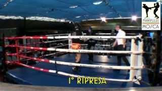 24 Marzo 2013. Andrea De Filippis vs Roberto Emili. Kick Boxing Light