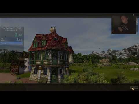 Settlers 7 Paths to a Kingdom - Campaign 1 Test Speedrun