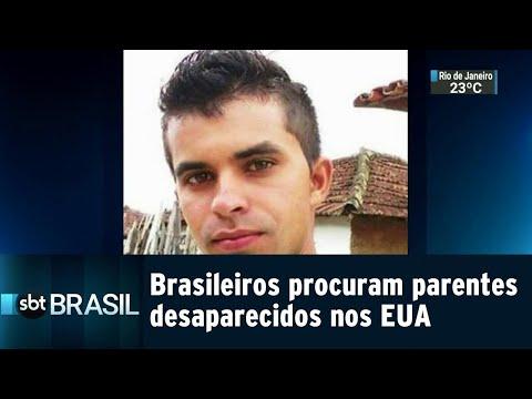 Brasileiros acreditam que parentes desaparecidos nos EUA estão presos | SBT Brasil (14/09/18)
