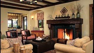 Частный дом гостиная  простор для полета фантазии(Когда мы говорим о дизайне гостиной в частном доме, то сразу возникает мысль о деревенском стиле, древесин..., 2014-10-17T08:40:41.000Z)