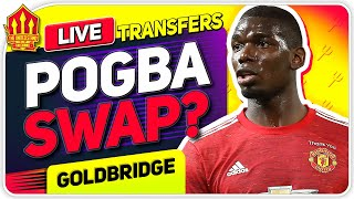 Pogba TRANSFER SWAP? Cavani Decision Made! Man Utd Transfer News
