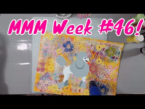 Mixed Media Mash-Up - Week #46! Got Some Energy and Ready To GO!