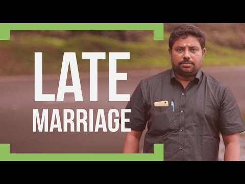 Late Marriage by DINDIGUL P CHINNARAJ ASTROLOGER INDIA