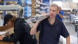 Wohnwagen-Produktion bei Fendt-Caravan