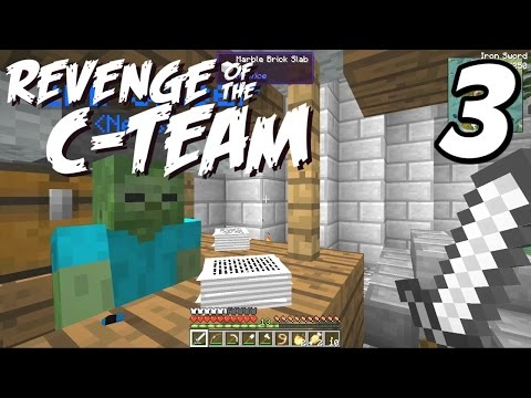 "Revenge of the C-Team - E03 ""Criminal Activity!"" (Modded Minecraft Survival)"