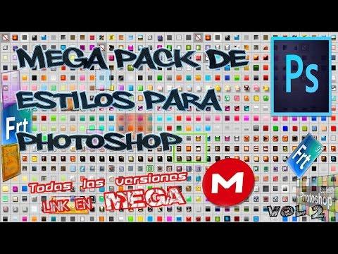 Pack De Estilos Para Photoshop Todas Las Versiones [Mega] Vol.2  Actualizado 2017