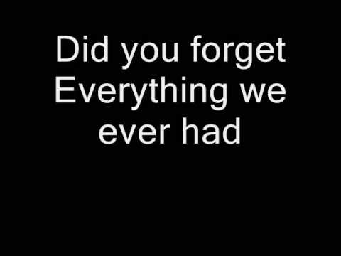 Demi Lovato- Don't Forget (lyrics)
