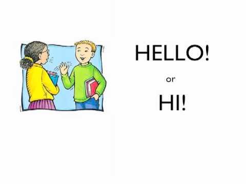 Basic greetings in englishwmv youtube basic greetings in englishwmv m4hsunfo